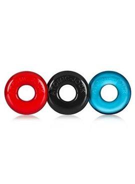 Ox Balls Ox Balls Ringer 3-Pack Cock  Rings