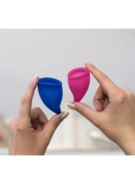 Fun Factory FUN CUP Explorer Menstrual Cups - 2 Pack