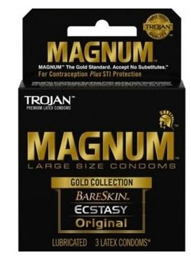 Trojan Magnum Gold - 3 Pack