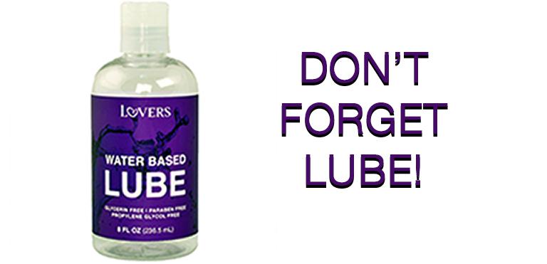 Lovers Water-based Lube