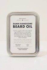 Everyday Damn Handsome Beard Oil & Face Rag