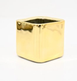 Everyday Mini Square Gold Pot