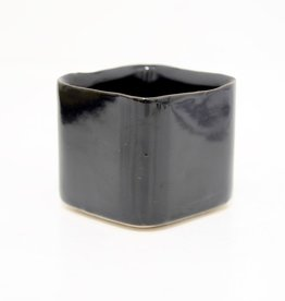 Everyday Mini Square Black Pot
