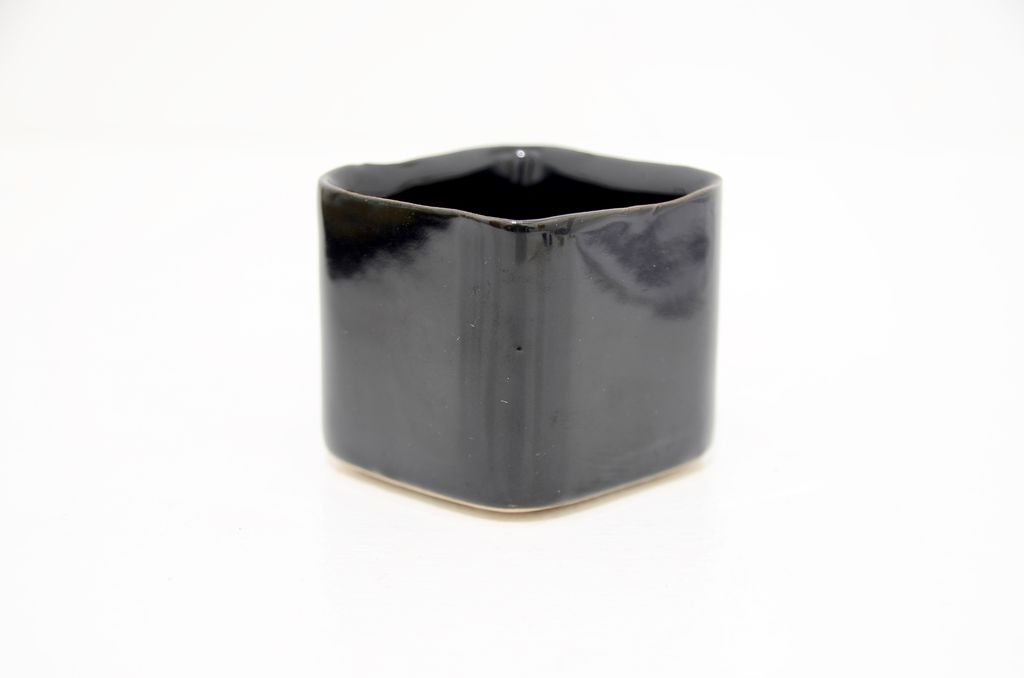 Everyday Square Svek Pot - Black