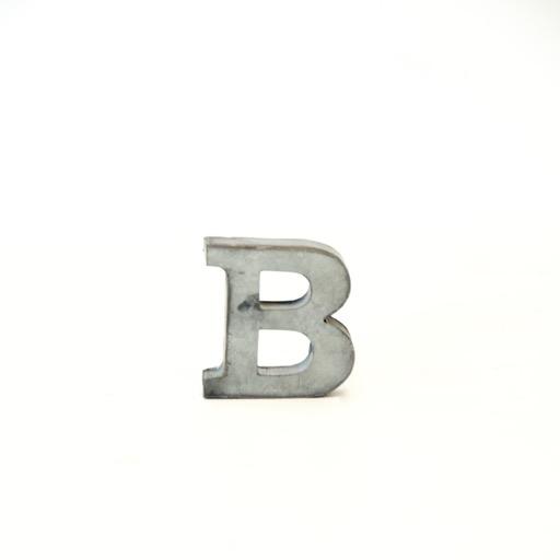 Everyday Metal Alphabet Letters