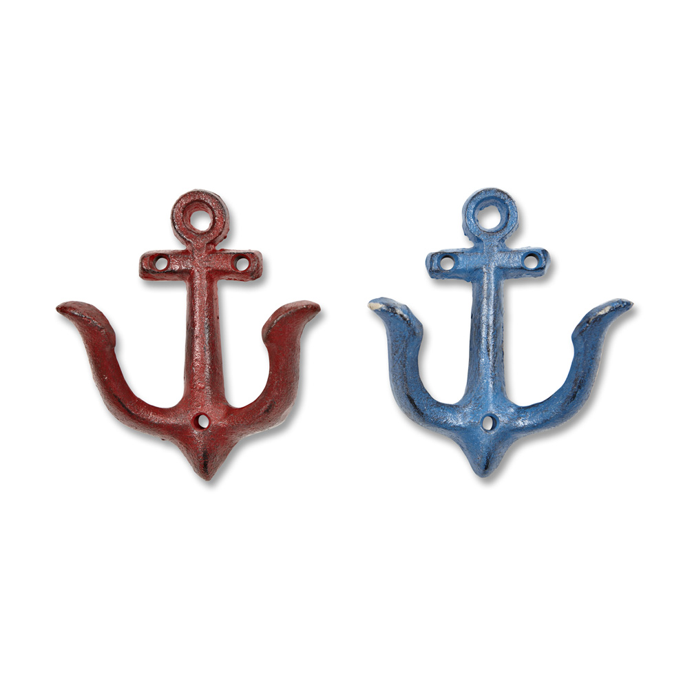 Everyday Red/Blue Anchor Hook