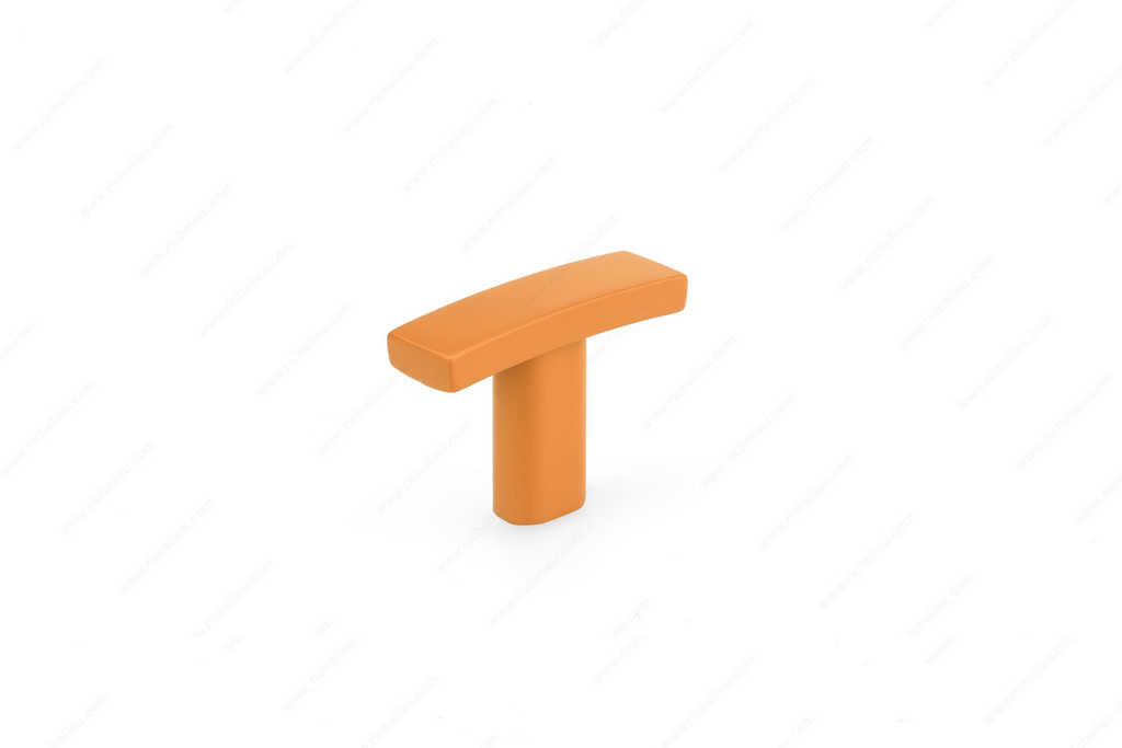 Everyday Modern Orange Knob