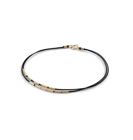 Everyday Black & Gold Bracelet