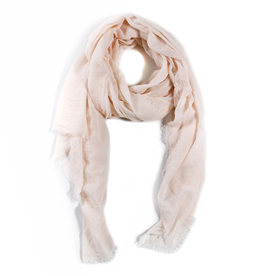 Everyday Light Blush Scarf