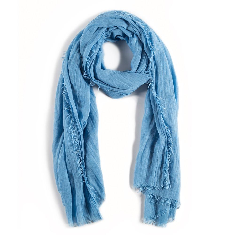 Everyday Lightweight French Blue Scarf