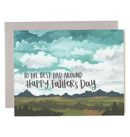 Everyday To The Best Dad Around Card