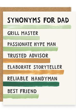 Everyday Synonyms for Dad Card