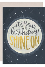 Everyday Shine On Birthday Card
