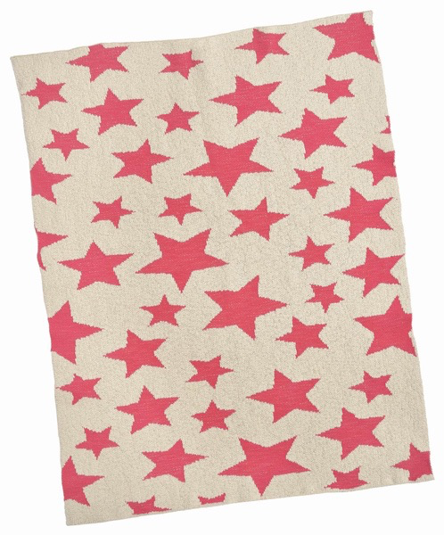 Everyday Pink Star Baby Blanket