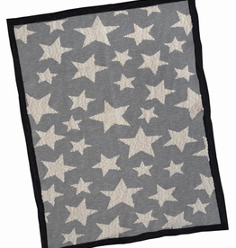 Everyday Grey Star Baby Blanket