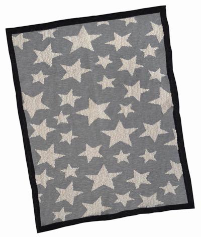 Everyday Grey Star Baby Blanket