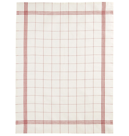 Everyday Red Plaid Tea Towel