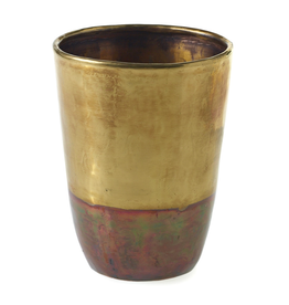 Everyday Small Moi Brass Vase