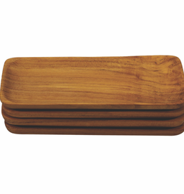 Everyday Teak Rectangle Tray