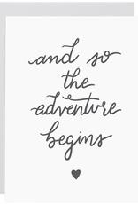Everyday Adventure Begins Card