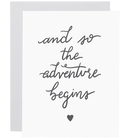 Everyday Adventure Begins Card