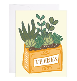 Everyday 'Thanks' Succulent Card