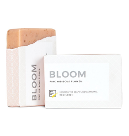 Everyday 'Bloom' Soap - Pink Hibiscus Flower