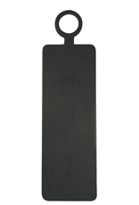 Everyday Brushed Black Wood Rectangle Cheese Board