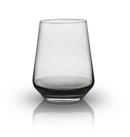 Everyday Black Transparent Crystal Tumbler