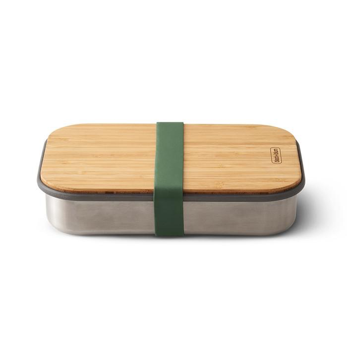 Everyday Bamboo Lid Lunch Box - Olive