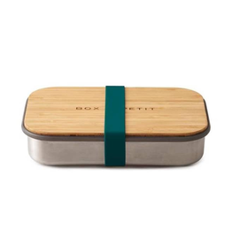 Everyday Bamboo Lid Lunch Box - Blue