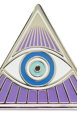 Everyday All Seeing-Eye Enamel Pin