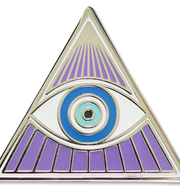 Everyday All Seeing-Eye Enamel Pin