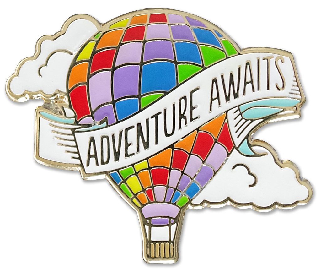 Everyday Adventure Awaits Enamel Pin