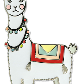 Everyday Llama Enamel Pin