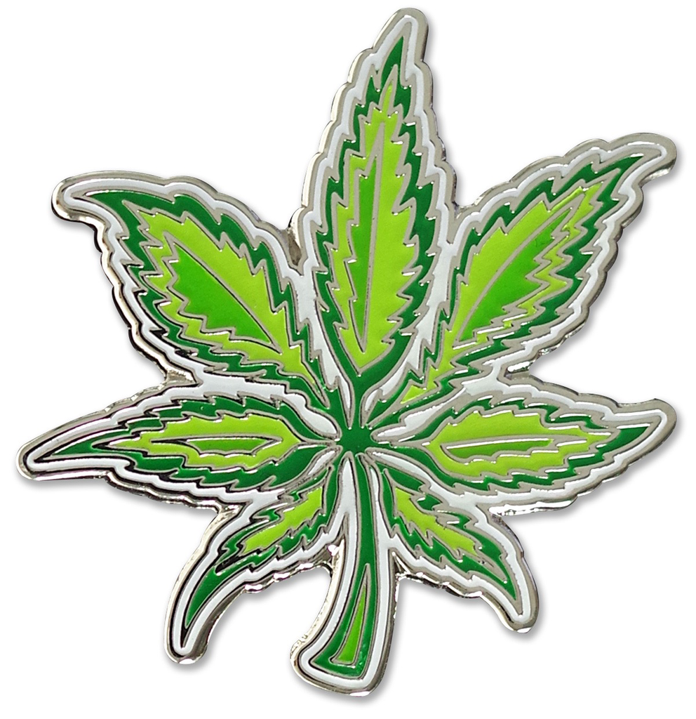 Everyday Weed Enamel Pin