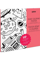 Everyday Poster Colouring: Pop