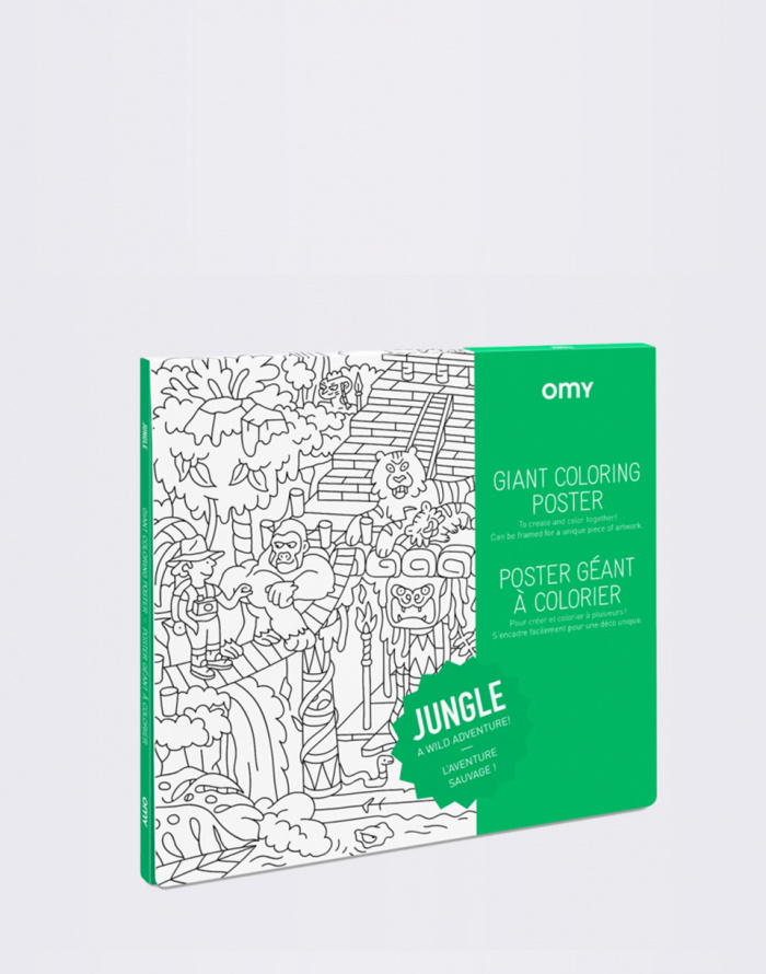 Everyday Poster Colouring: Jungle
