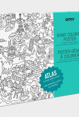 Everyday Poster Colouring: Atlas