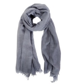 Everyday Soft Denim Grey Scarf