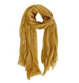 Everyday Soft Marigold Scarf