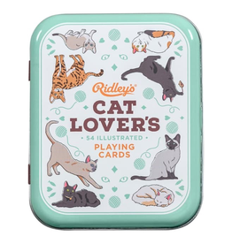 Everyday Cat Lover's Playing Cards