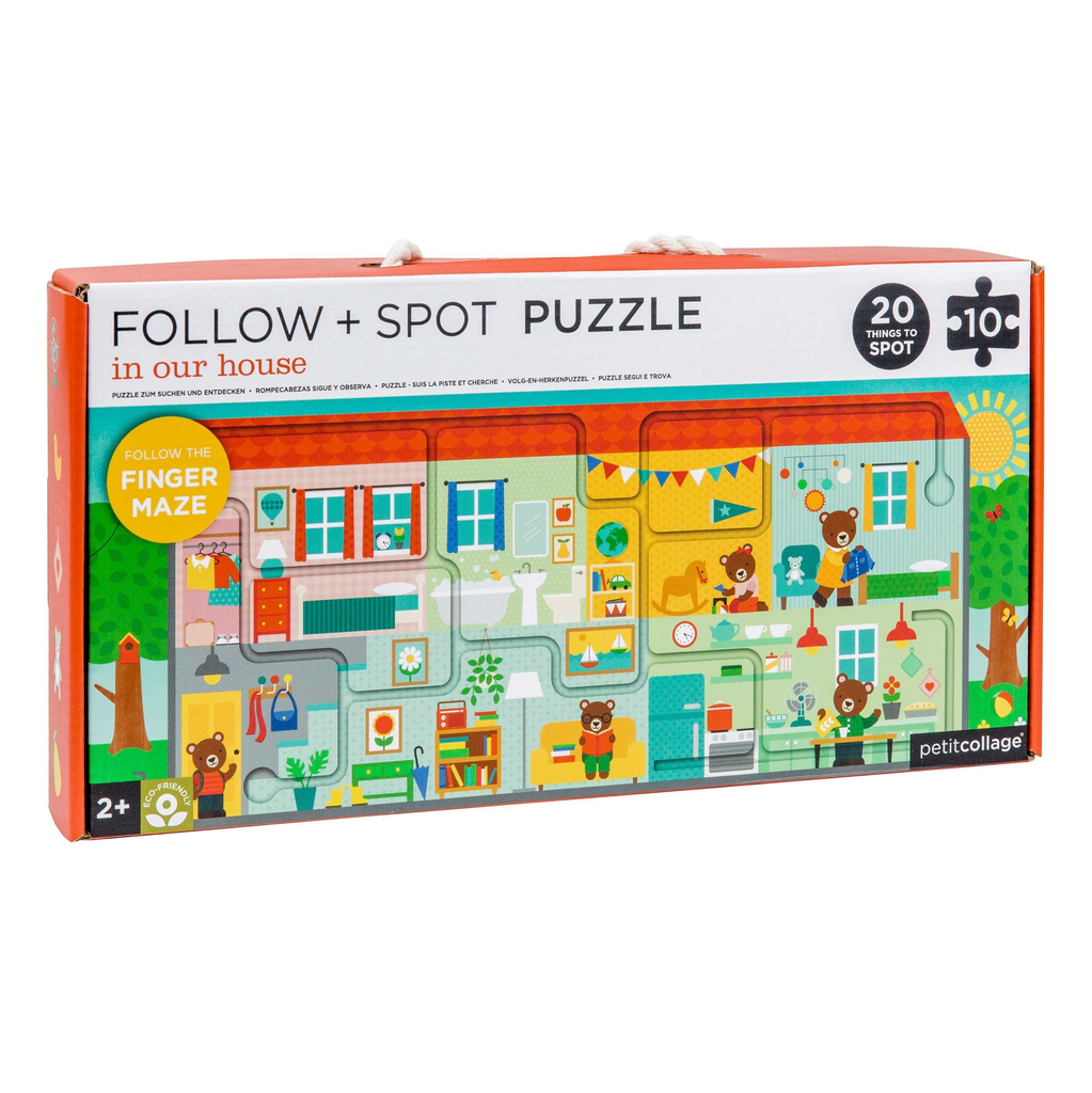 Everyday Follow & Spot Puzzle - In Our House