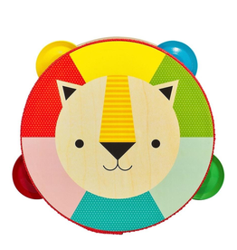 Everyday Colourful Lion Tambourine