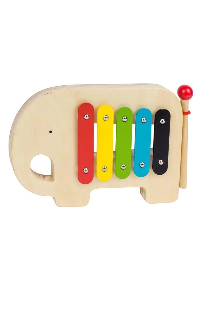 Everyday Wooden Xylophone Elephant