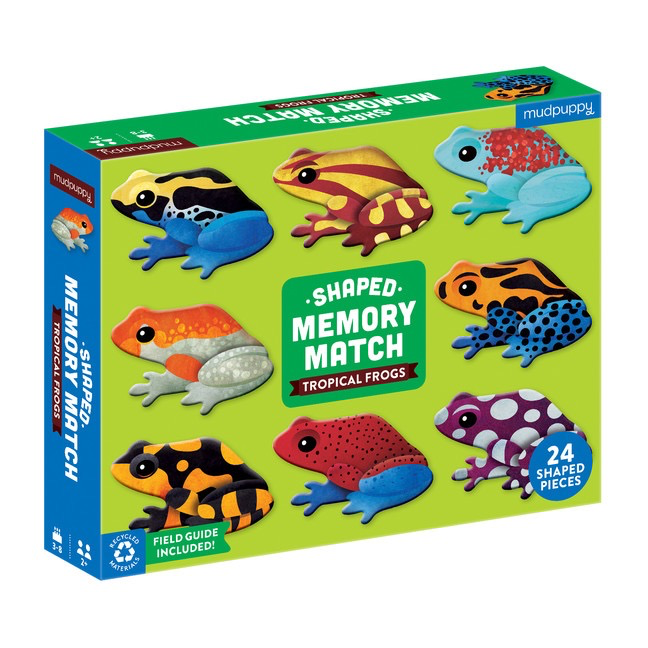 Everyday Tropical Frogs Memory Game