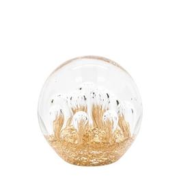 "Everyday 3"" Glitter Glass Paperweight Ball"