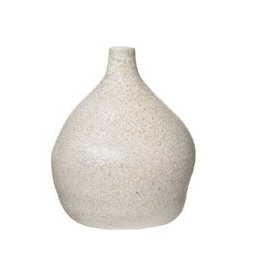 Everyday Cream Distressed Terra Cotta Vase