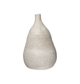 Everyday Large Cream Distressed Terra Cotta Vase