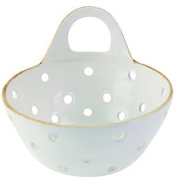 Everyday White Berry Washing Basket
